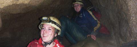 Speleologie in de Ardennen