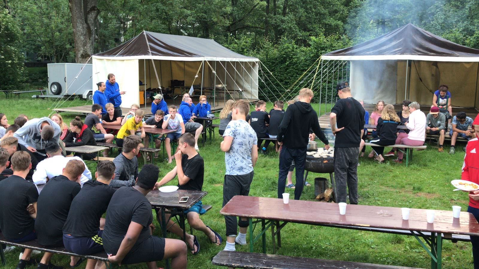 Foto van overnachten op de camping